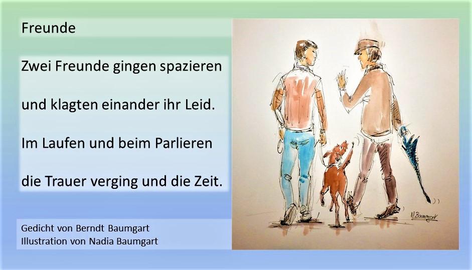Illustrierte Gedichte von Berndt Baumgart
