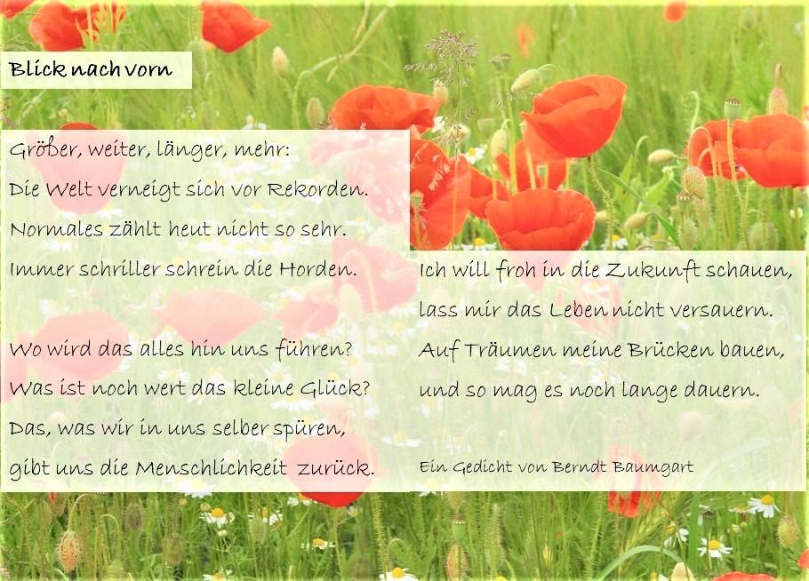 Gedichte von Berndt Baumgart