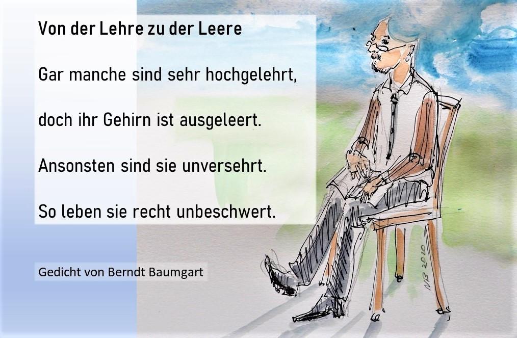 Lebensweisheiten und Gedichte von Berndt Baumgart