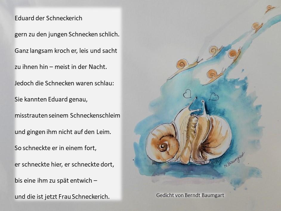 Humorvolle illustrierte Gedichte von Berndt Baumgart
