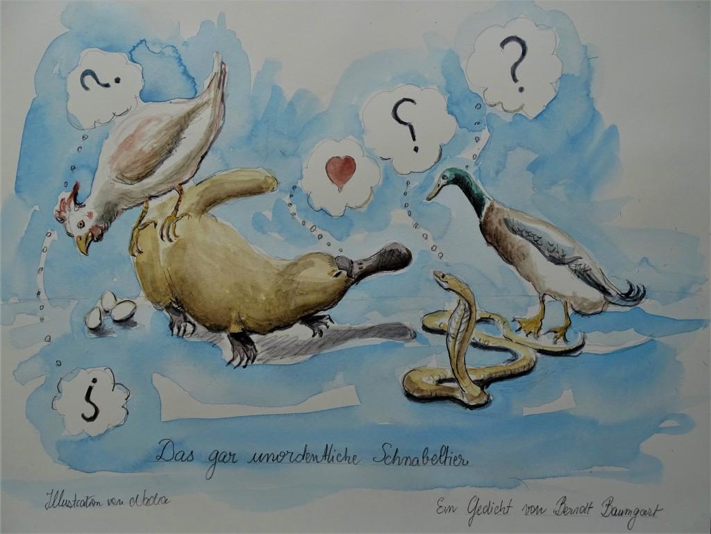 Gedichte von Berndt Baumgart - Illustriert von Nadia Baumgart