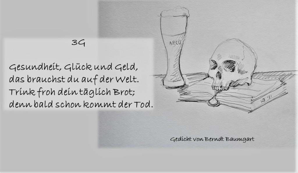 Illustrierte Gedichte von Berndt Baumgart - 3G