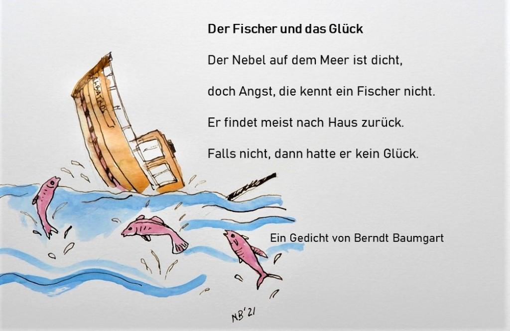 Gedicht von Berndt Baumgart - Illustriert von Nadia Baumgart